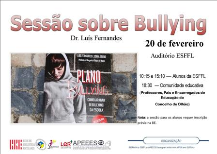cartaz bullying esffl